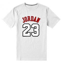 Мужская стрейчевая футболка Jordan 23 - FatLine