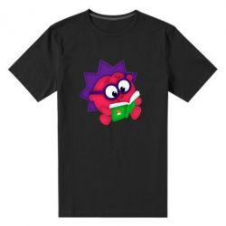 Мужская стрейчевая футболка Ёжик