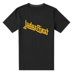Мужская стрейчевая футболка Judas Priest Logo - FatLine