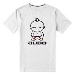 Мужская стрейчевая футболка Judo Fighter - FatLine