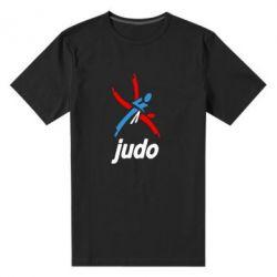 Мужская стрейчевая футболка Judo Logo - FatLine