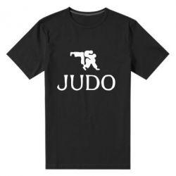 Мужская стрейчевая футболка Judo - FatLine