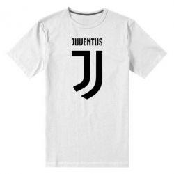 Мужская стрейчевая футболка Juventus Logo
