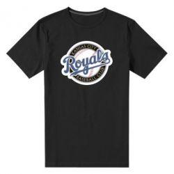 Мужская стрейчевая футболка Kansas City Royals - FatLine