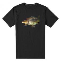 Мужская стрейчевая футболка Карасик