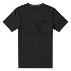 Мужская стрейчевая футболка Karate - FatLine