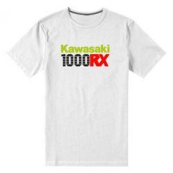 Мужская стрейчевая футболка Kawasaki 1000RX - FatLine