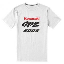 Мужская стрейчевая футболка Kawasaki GPZ500S - FatLine