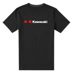 Мужская стрейчевая футболка Kawasaki Logo - FatLine