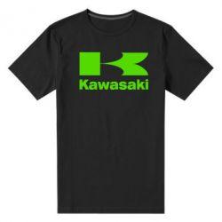 Мужская стрейчевая футболка Kawasaki - FatLine