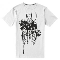 Мужская стрейчевая футболка Keith Charles Flint