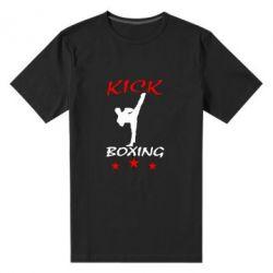 Мужская стрейчевая футболка Kickboxing Fight - FatLine