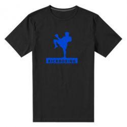 Мужская стрейчевая футболка Kickboxing Fighter - FatLine
