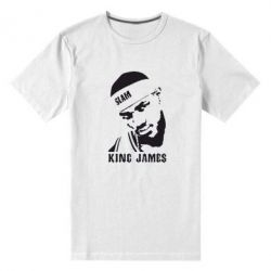 Мужская стрейчевая футболка King James