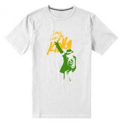 Мужская стрейчевая футболка King MJ - FatLine