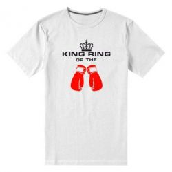 Мужская стрейчевая футболка King Ring - FatLine