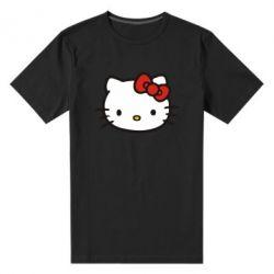 Мужская стрейчевая футболка Kitty - FatLine