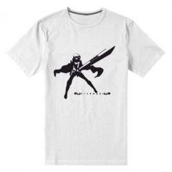 Мужская стрейчевая футболка Клеймор - FatLine