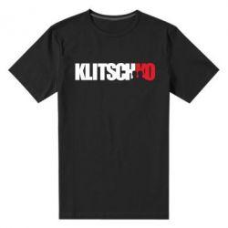 Мужская стрейчевая футболка Klitschko - FatLine