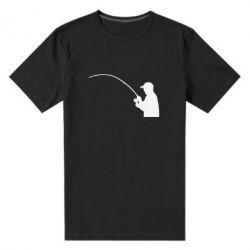 Мужская стрейчевая футболка Клюёт! - FatLine