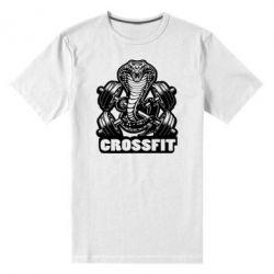 Мужская стрейчевая футболка Кобра CrossFit - FatLine