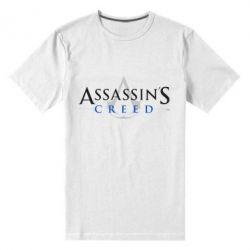 Мужская стрейчевая футболка Кредо убийцы - FatLine