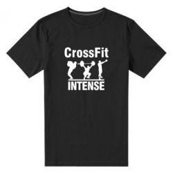 Мужская стрейчевая футболка Кроссфит - FatLine