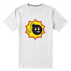 Мужская стрейчевая футболка Крутой Сем - FatLine