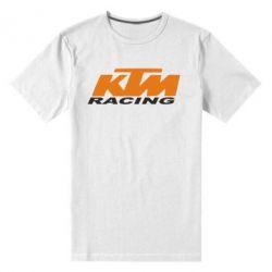 Мужская стрейчевая футболка KTM Racing - FatLine