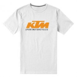 Мужская стрейчевая футболка KTM Sportmotorcycles - FatLine