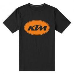 Мужская стрейчевая футболка KTM - FatLine