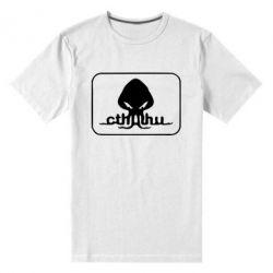 Мужская стрейчевая футболка Ктулху - FatLine