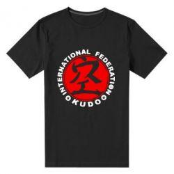 Мужская стрейчевая футболка Kudo - FatLine