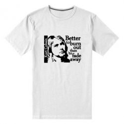 Чоловіча стрейчова футболка Kurt Cobain - FatLine