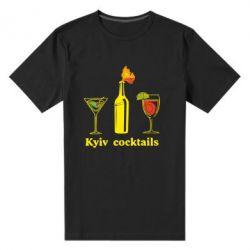 Мужская стрейчевая футболка Kyiv Coctails - FatLine