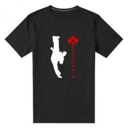 Мужская стрейчевая футболка Kyokushin Kick - FatLine