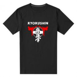 Мужская стрейчевая футболка Kyokushin - FatLine