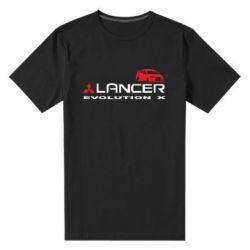 Мужская стрейчевая футболка Lancer Evolution X - FatLine