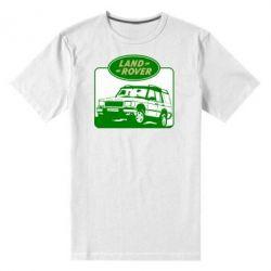 Мужская стрейчевая футболка Land Rover - FatLine