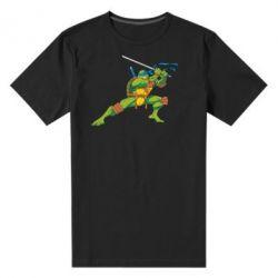 Мужская стрейчевая футболка Leo - FatLine