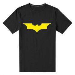 Мужская стрейчевая футболка Летучая мышь - FatLine