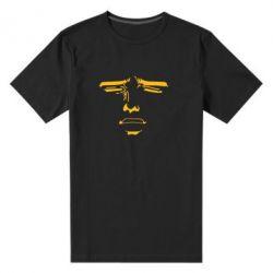 Мужская стрейчевая футболка Лицо аниме - FatLine