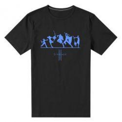 Мужская стрейчевая футболка Lineage fight - FatLine