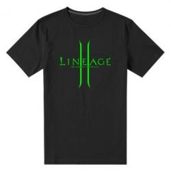 Мужская стрейчевая футболка Lineage ll - FatLine