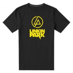 Мужская стрейчевая футболка Linkin Park - FatLine