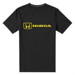 Мужская стрейчевая футболка Логотип Honda - FatLine