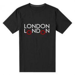 Мужская стрейчевая футболка London - FatLine