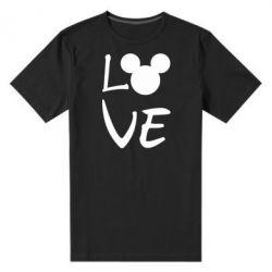 Чоловіча стрейчева футболка Love Mickey Mouse (male)