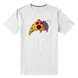 Мужская стрейчевая футболка Love Pizza 2