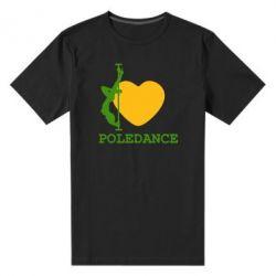 Мужская стрейчевая футболка Love Pole Dance - FatLine